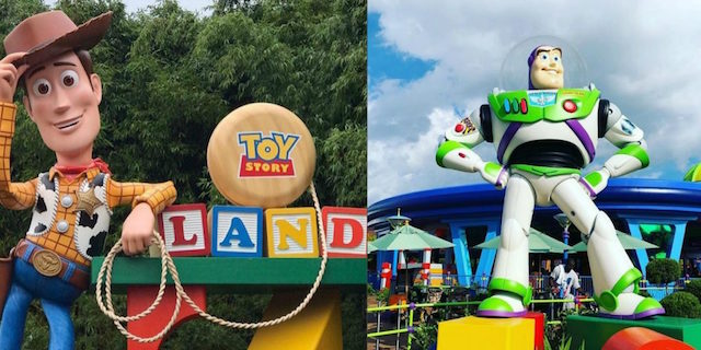 Toy Story Land: ha aperto il parco giochi di Woody e Buzz Lightyear