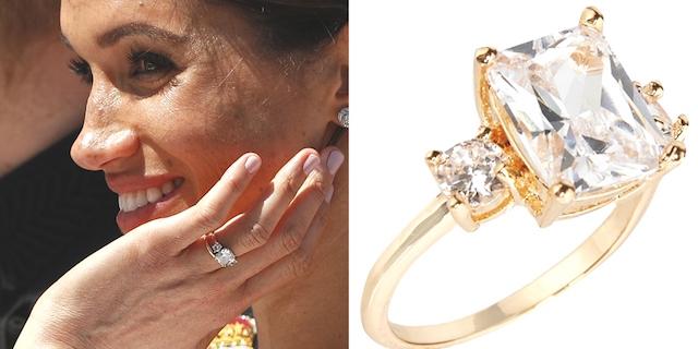 L'anello di Meghan Markle in vendita da Primark