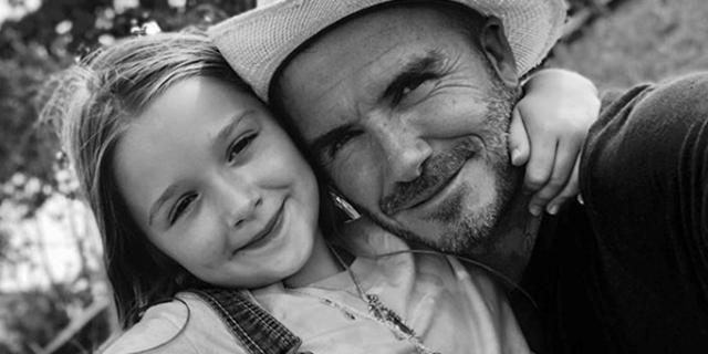 Le parole di David Beckham per la sua ragazza speciale