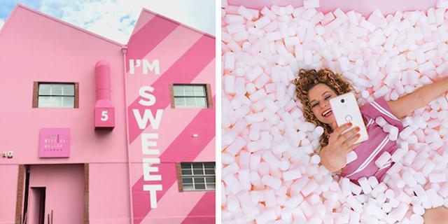 Sweet Art Museum: il museo delle caramelle con la vasca dei marshmallow