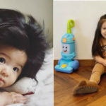 Baby Chanco, la bambina capellona che fa impazzire Instagram
