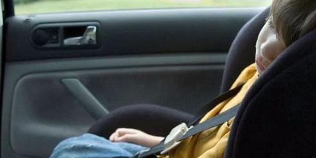 figli in auto