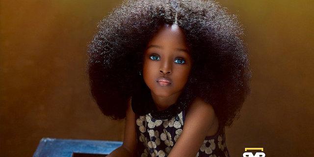 Chi è Jare Ijalana, la bambina più bella del mondo