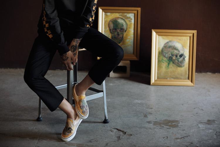 Le opere d'arte ai piedi: arrivano le Vans dedicate a Van Gogh