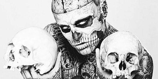 """È morto a 32 anni Rick Genest, lo """"zombie boy"""" e modello più tatuato al mondo"""