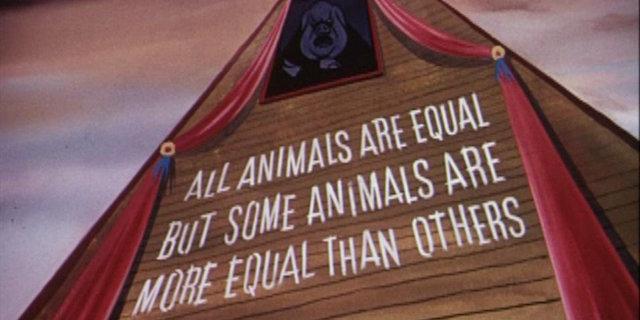 La fattoria degli animali di Orwell diventa un film su Netflix
