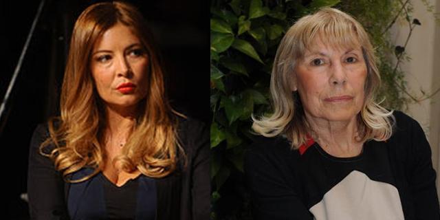 Lucarelli e madre