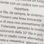Le pesanti parole da Medioevo degli ultra della Lazio sulle donne tifose