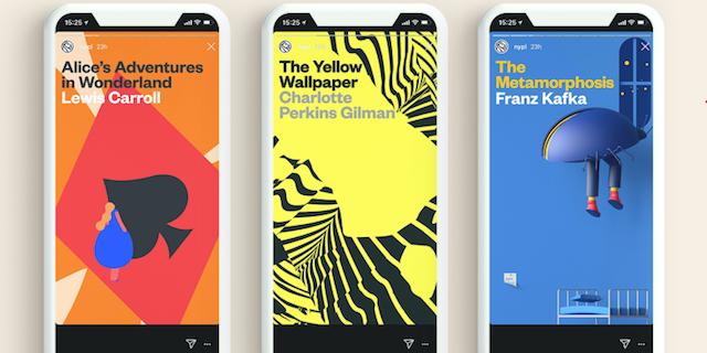 Insta Novel, i libri ora si leggono sulle Stories di Instagram