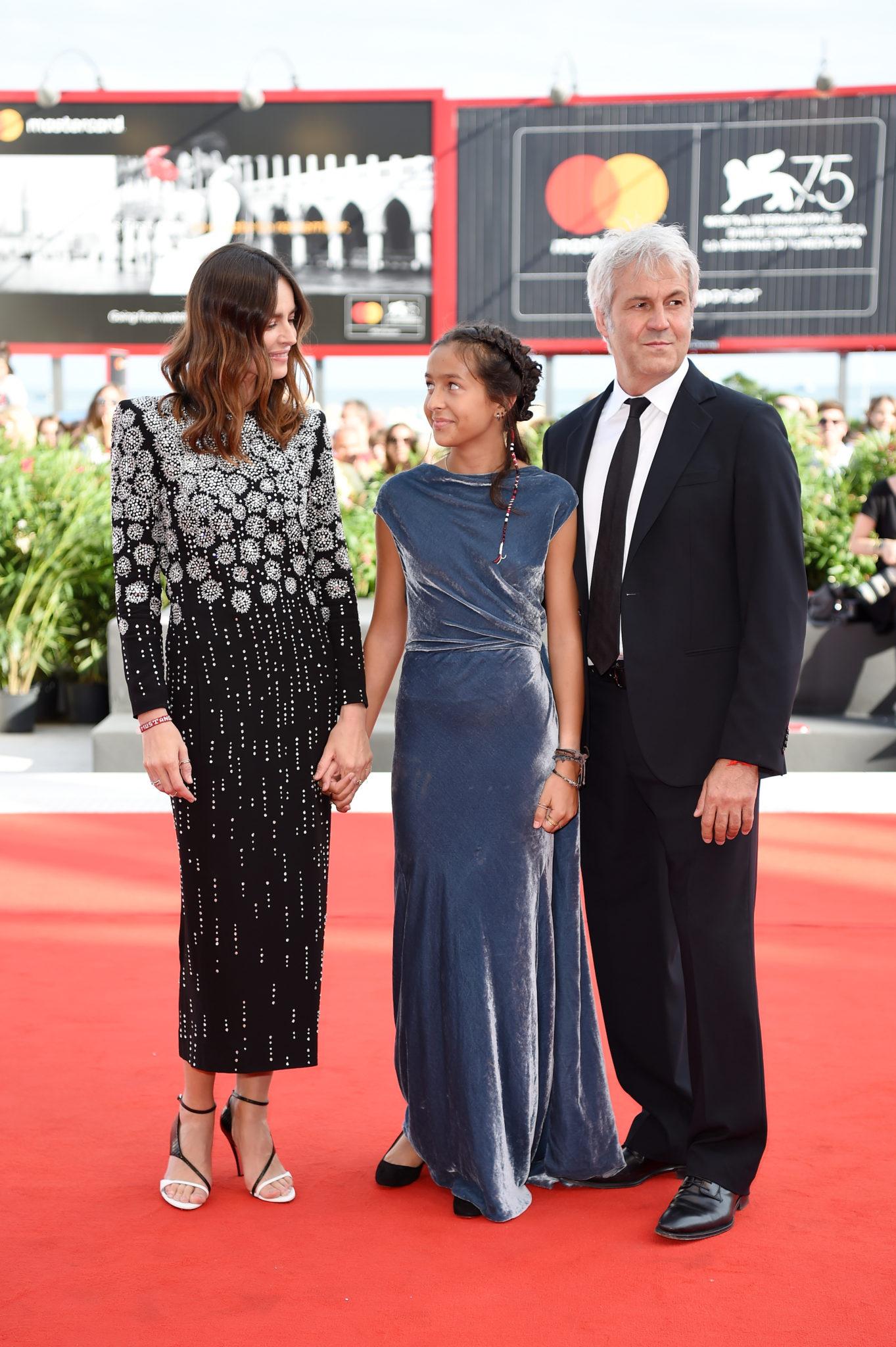 Sophie Taricone, primo red carpet per la figlia di Pietro e Kasia Smutniak