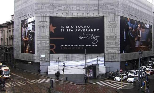 """Starbucks apre a Milano, il frappuccino è """"all'italiana"""""""