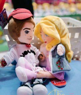 Chi c'era dentro le maxi mascotte matrimoniali di Fedez e Chiara Ferragni