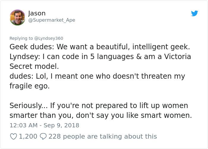 Troppo bella per essere intelligente: la risposta di Lyndsey Scott zittisce tutti