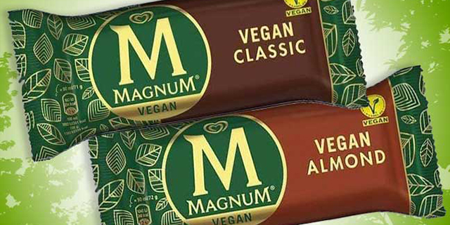 Algida annuncia l'arrivo del  Magnum Vegano