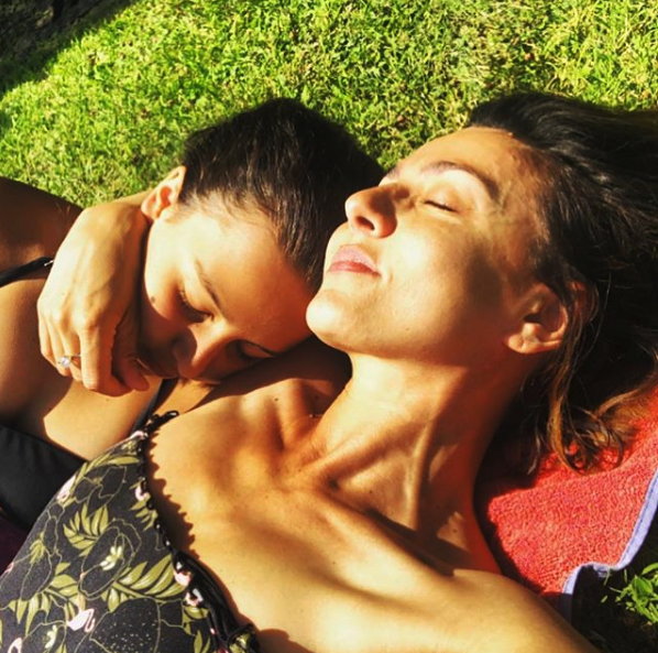 """Ambra Angiolini: """"Ero bulimica, mia figlia mi ha salvata"""""""