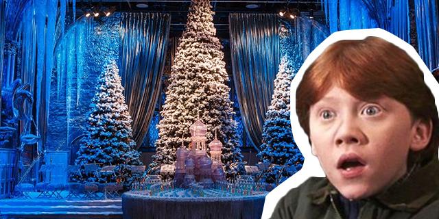 Come partecipare al cenone natalizio a tema Harry Potter degli Warner Bros Studious