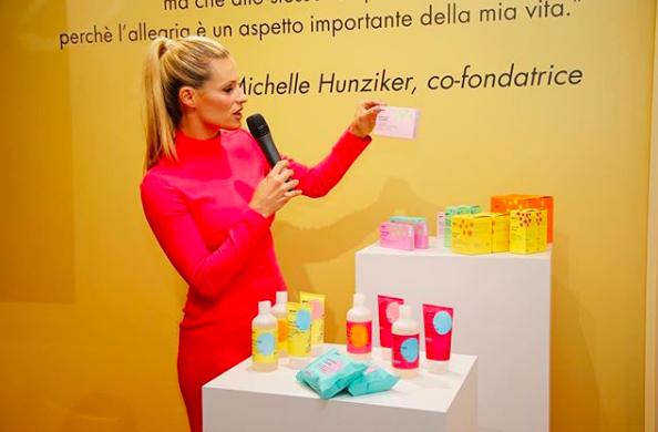 Goovi, la linea di prodotti vegan ed ecobio di Michelle Hunziker