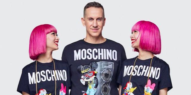 Moschino per H&M: una collezione dedicata agli anni '90