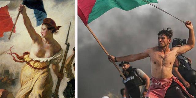 """A'ed Abu Amro, chi è il ragazzo-libertà """"che guida il popolo"""""""
