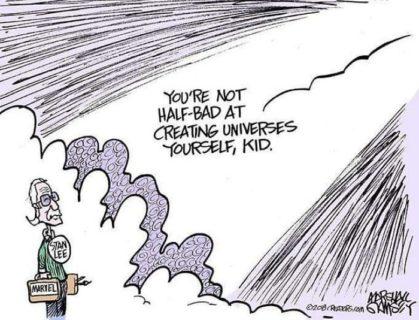 Il dolore e la gratitudine degli eroi per la morte del loro papà in 30 fumetti