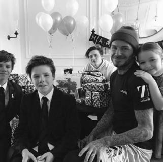 Se un papà (David Beckham) bacia sua figlia sulla bocca ed è subito polemica