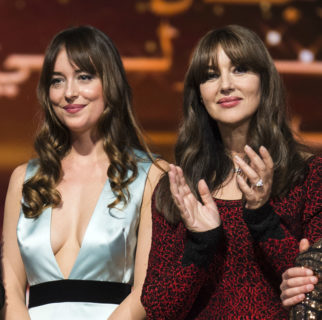 L'incanto di Dakota Johnson e Monica Bellucci al Marrakech Film Festival