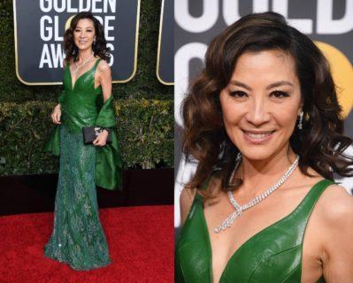 Effetto nudo, eccentrici, eleganti, regali: gli abiti delle star ai Golden Globe 2019