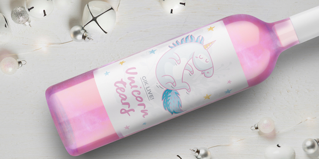 """Unicorn Tears: il """"non vino"""" rosé di unicorno perfetto per Instagram"""
