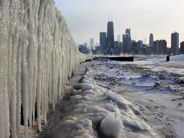 30 foto del folle freddo che ha investito l'America