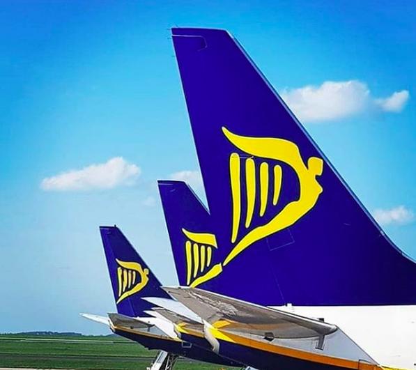 Ryanair, annunciate 55 nuove rotte per la stagione 2019/2020
