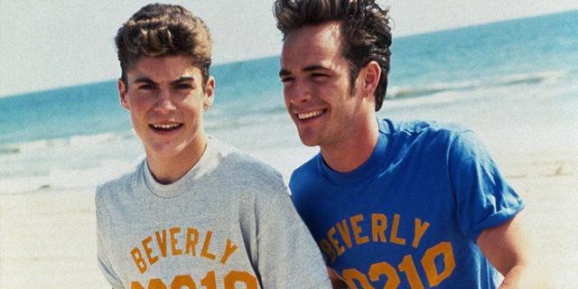 Il ricordo di Brian e degli altri colleghi di Beverly Hills 90210 per Luke Perry