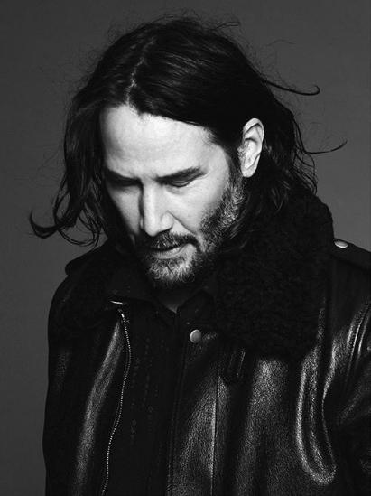 20 anni dopo: le foto di Keanu Reeves per Yves Saint Laurent