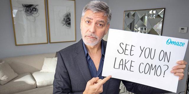 Come fare e quanto costa la cena con Amal e George Clooney nella loro villa sul lago