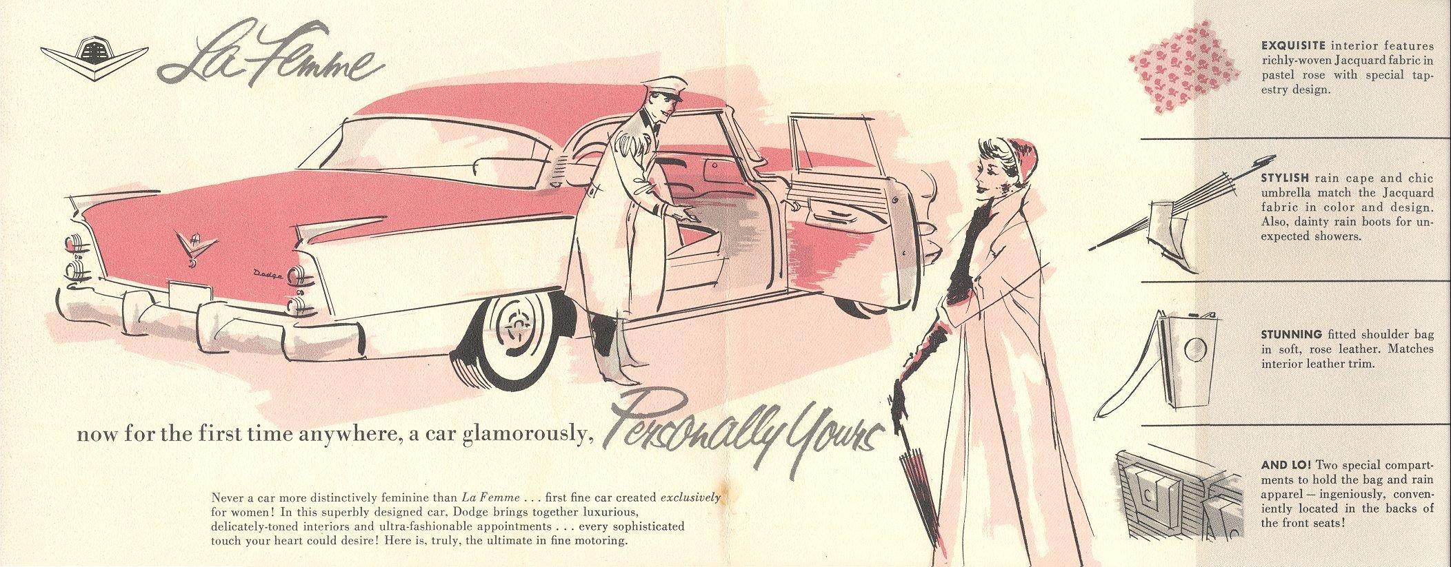 Com'era La Femme Dodge, la macchina progettata da uomini per le donne