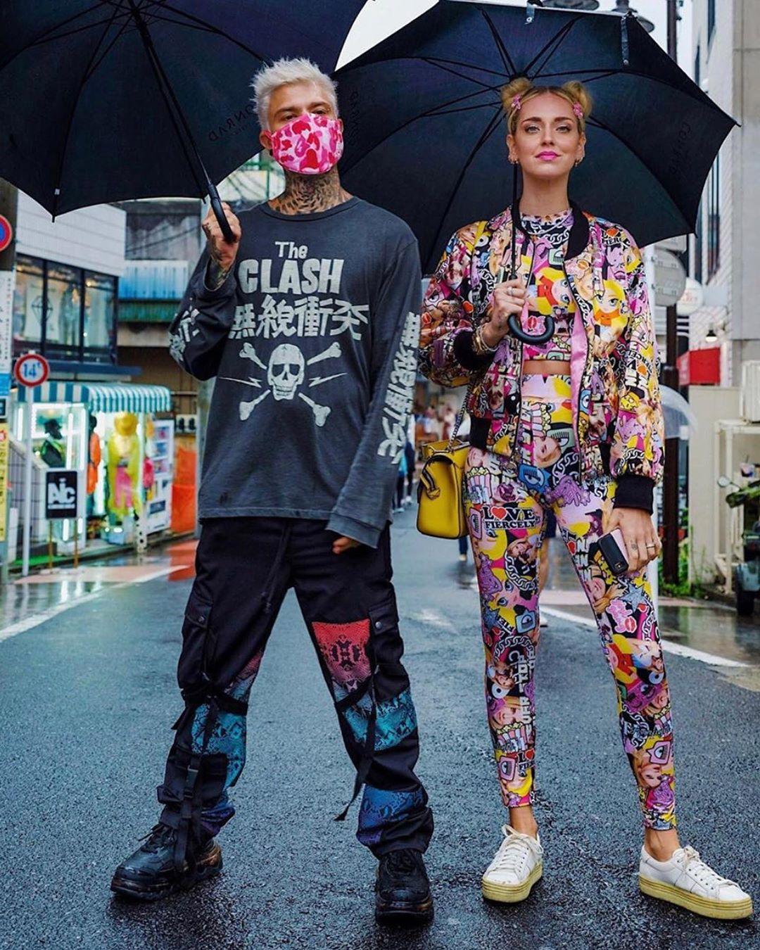 Chiara Ferragni come Sailor Moon e gli altri pazzi look dei Ferragnez in Giappone