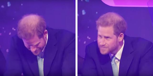 Le lacrime del principe Harry per suo figlio Archie