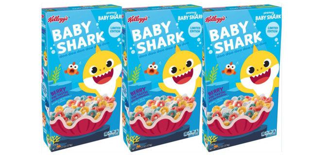 Stanno arrivando i cereali di Baby Shark (in edizione limitata)... e il cartone