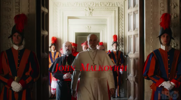 Il primo teaser di 'New Pope' di Sorrentino, con Jude Law di nuovo in 'veste papale'