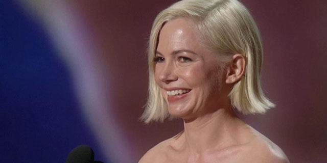 Michelle Williams parla dell'equal pay: il discorso sul palco degli Emmy Awards