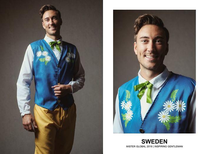 La bellezza maschile nel mondo in 37 scatti in abiti tipici
