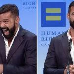 """Ricky Martin, il video con la dedica al marito: """"Siamo incinti del quarto figlio"""""""