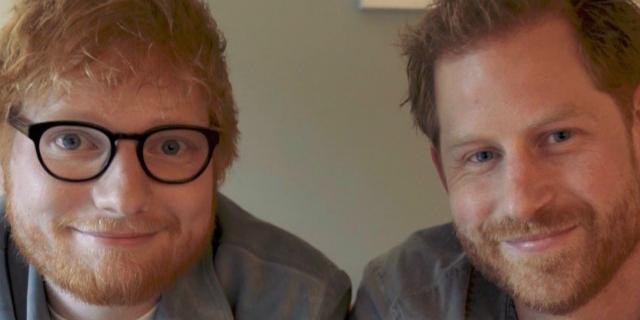 Ecco cosa hanno combinato il principe Harry e Ed Sheeran insieme