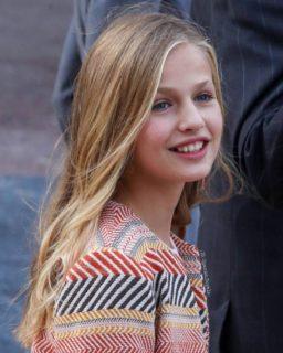 Leonor di Spagna, il primo discorso a 13 anni della futura regina di Spagna