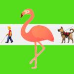 Dal cane guida al fenicottero: ecco le 74 nuove emoji di WhatsApp