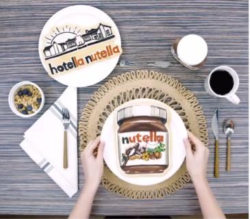 L'Hotella Nutella esiste davvero, ma solo per un weekend magico
