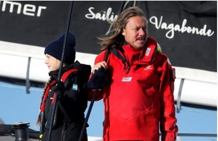 """""""Ora è felice ma sono preoccupato"""": Greta Thunberg raccontata dal padre Svante"""