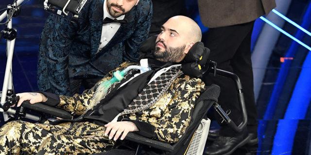 Il rap di Paolo Palumbo, malato di SLA, che ha incantato Sanremo