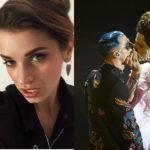 Il post di Valentina, moglie di Boss Doms, il chitarrista che ha baciato Achille Lauro