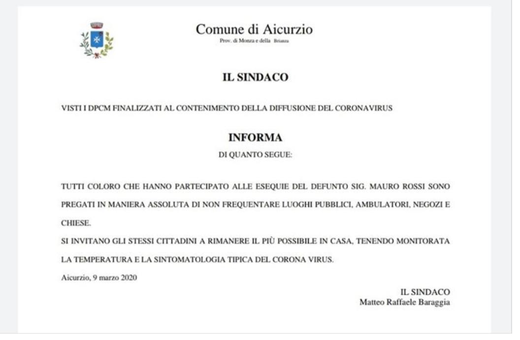 """Coronavirus e funerali: dai video con i defunti al dramma del dolore """"a distanza"""""""