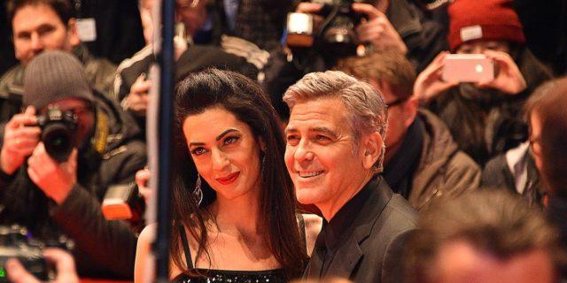 Coronavirus: 1 milione di dollari da George Clooney e Amal (anche alla Lombardia)